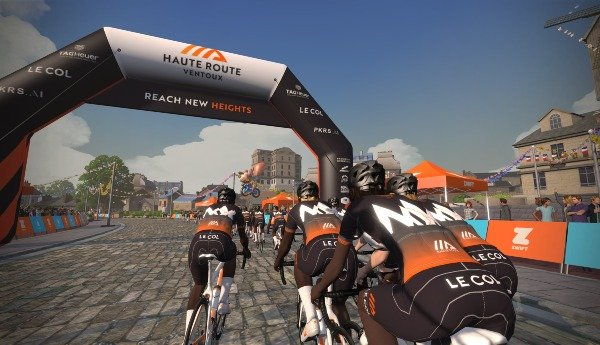 Zwift with us