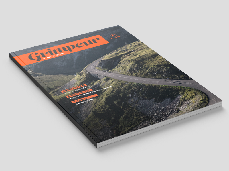 Grimpeur: The Haute Route digital magazine