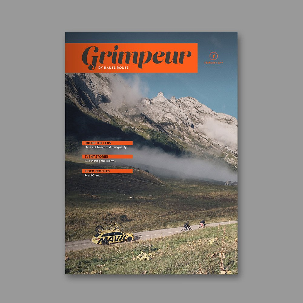 Grimpeur Magazine February 2019