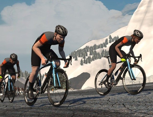 Zwift presents the Haute Route Watopia