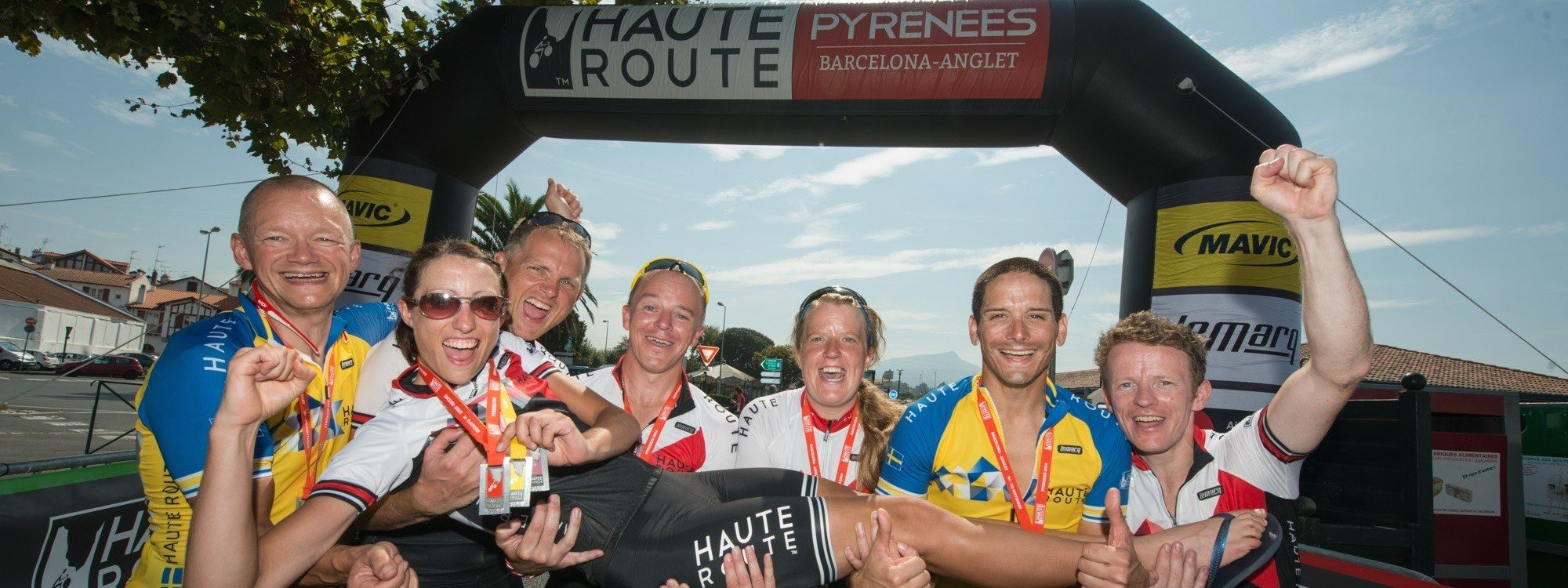 Results Haute Route Pyrenees 2014