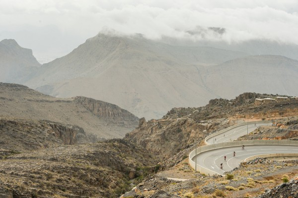Haute Route Oman off to a flying start as riders take on challenging Jebel Akhdar climb