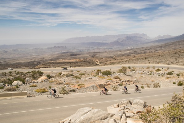 Haute Route Oman provides another stiff mountain challenge for international cyclists