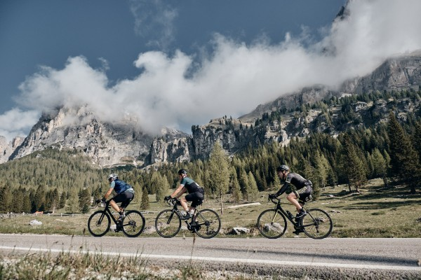Haute Route Dolomites riders end Stage One on a high after summit finish