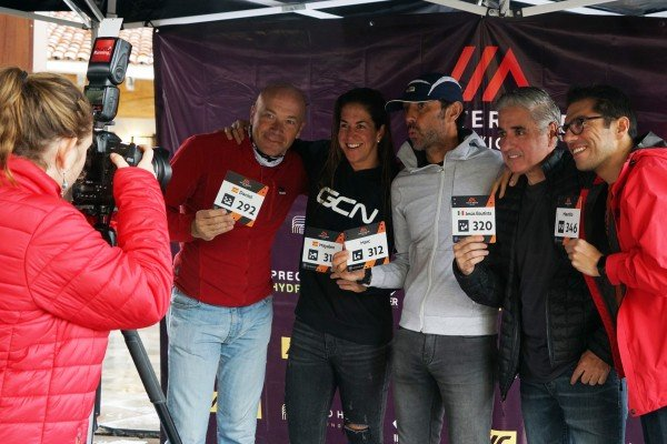 400 riders gathered in Valle de Bravo to take on the inaugural Haute Route Mexico