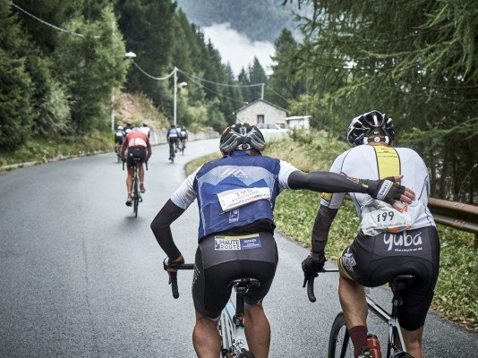 A race against the clock for dynamic duo's at Haute Route Stelvio
