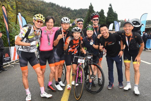 Three days of incredible riding at the inaugural Haute Route Qingcheng