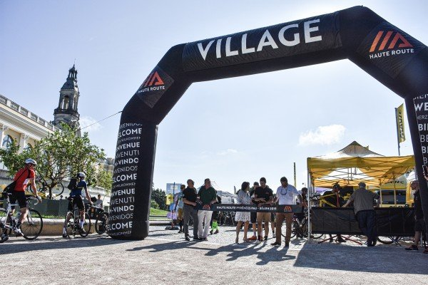 Pau Béarn welcome riders to the Grand Depart Village for an unmissable Haute Route Pyrenees