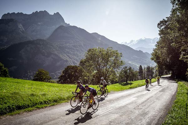 Punchy Climbs and Stunning Mont Blanc Views Highlight Haute Route Alps Stage 1