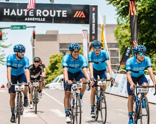 Elk Mountain and Blue Ridge Parkway Dominate Stage 1 of Haute Route Asheville