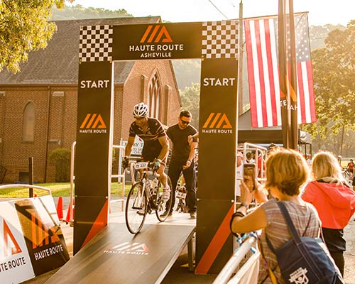 Haute Route Asheville Comes Down to the Wire in Town Mountain Time Trial