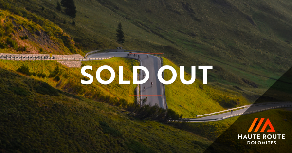 Dolomites Sold Out