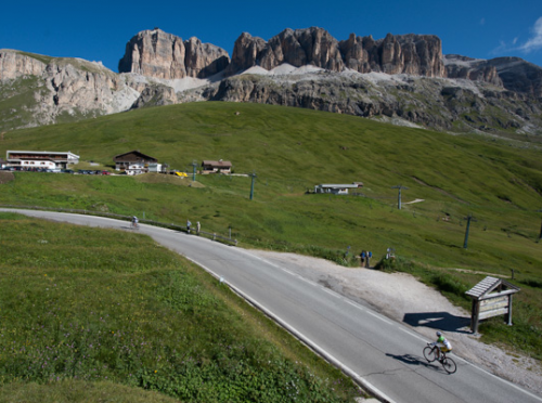 'Living the dream' on the second day of the Haute Route Dolomites Swiss Alps