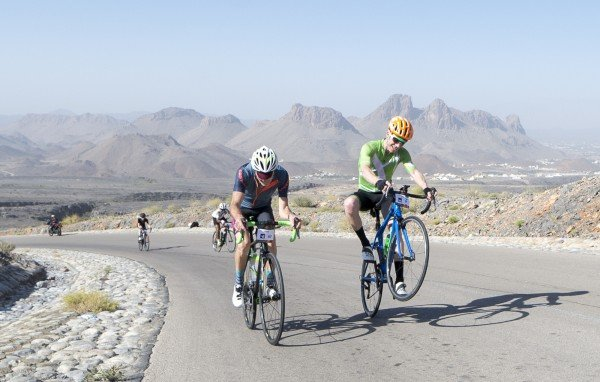 Stage 2 of Haute Route Oman provides another stiff mountain challenge for cyclists