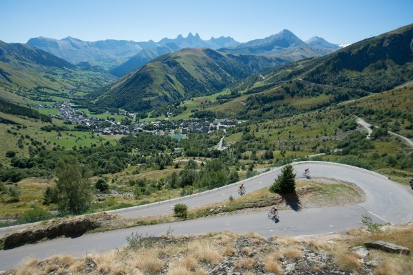 The 2016 Haute Route Series: tackling the most iconic climbs of the Alps, Pyrenees and Dolomites Swiss Alps
