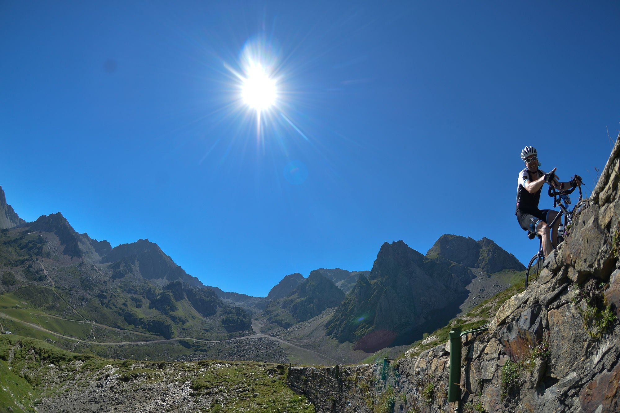 Ascent of Tourmalet © Manu Molle