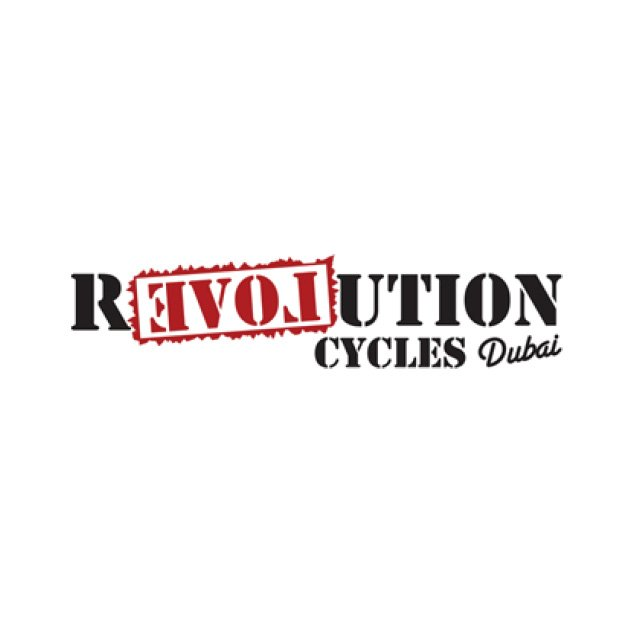 Revolution Cycle Dubai sponsor logo