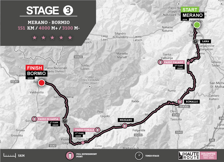 Stage profiles dolomites swiss alps 2014 haute route for 2014 haute route